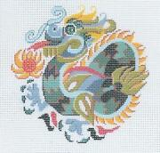 Dragon Needlepoint
