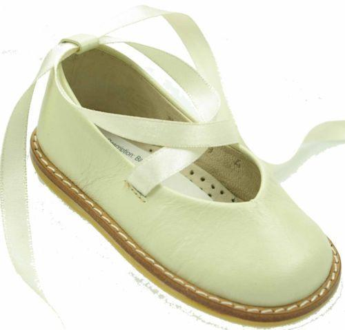 Kids Dream Ivory Organza Flower Ballet Flats Girls Dress Shoes Sold by Sophias Style Boutique Inc. $ $ Christening Day Girls Rhinestone Strap Mia Occasion Dress Shoes White, Ivory, or Black Kids. Sold by Christening mediacrucialxa.cf $ $