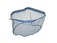 Soft Rubber Mesh Match Landing Net Head Pan Type 50cm x 45cm
