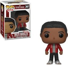 FUNKO POP! GAMES: Marvel Spider-Man - Miles Morales [New Toy] Vinyl Figure