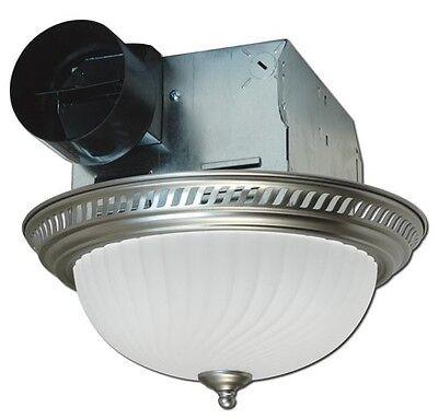 Ceiling Exhaust Fan Light Mount Bathroom Ventilation Bath Decor Quiet Vent Home