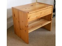 Pine side table
