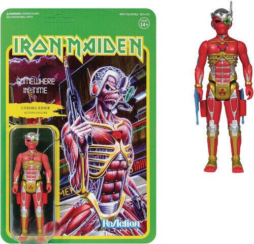 Iron Maiden - Iron Maiden ReAction Figure - Somewhere in Time (Album Art) [New T