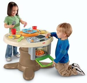 Fisher price pizza oven table