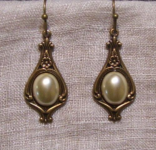 Victorian Pearl Earrings Ebay