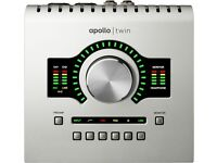 NEW UAD UNIVERSAL AUDIO APOLLO TWIN DUO THUNDERBOLT INTERFACE