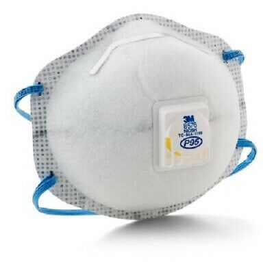 1 Box Of 10 Each 3m 8576 P95 Particulate Respirator See Listing And Pictures