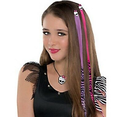 Monster High Hair Extensions 2ct - PInk & Purple -NEW!!](Monster High Hair Extensions)