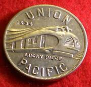 Union Pacific Lucky Piece