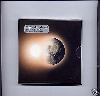Hawkwind Epocheclipse 30 Year Anthology 3 CD Box set