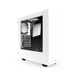 Gaming PC Case NZXT S340 White Mid Tower USB3.0 x2