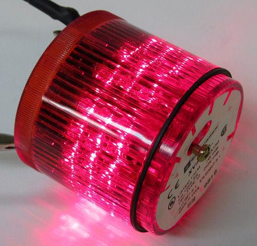 Telemecanique XVACD441C024 Stack Light Module, Flashing Red LED, 24VAC/DC