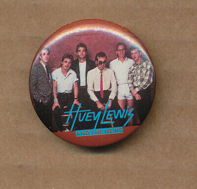 Huey Lewis RARE vintage button set, used for sale  Shipping to India