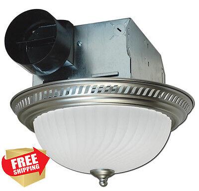 Ceiling Exhaust Fan Light Mount Bathroom Ventilation Bath De