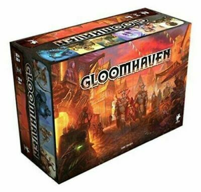 GLOOMHAVEN BOARD GAME - RETAIL SECOND EDITION  - NEW AND SEALED