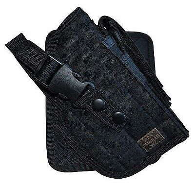 Deluxe Cross Draw Black Right Hand Molle Pistol Holster Gun BB Tactical (Cross Draw Pistol)