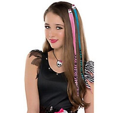Monster High Hair Extensions 2ct - PInk & Blue -NEW!!](Monster High Hair Extensions)