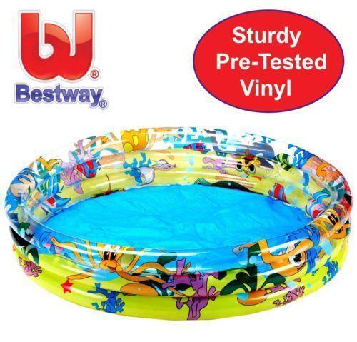Inflatable paddling pool ebay for Rigid paddling pool