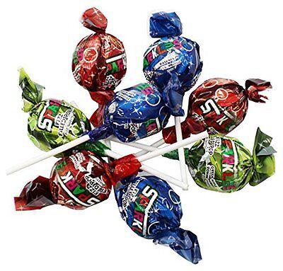 Zaza Sparkles Fizz Filled Assorted Big Lollipop - Pack of 2 - Big Lollipops