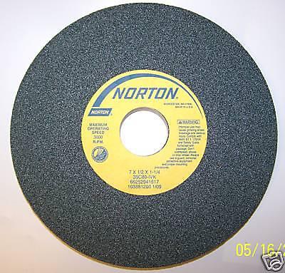 Norton 39c80-ivk Grinding Wheel - 7 X 12 X 1-14 - New Closeout Price