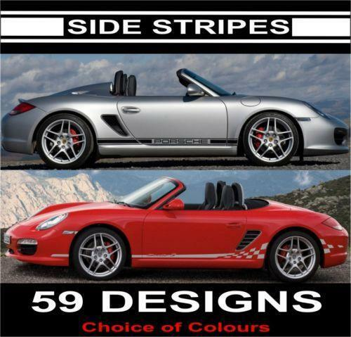 porsche boxster decals ebay. Black Bedroom Furniture Sets. Home Design Ideas