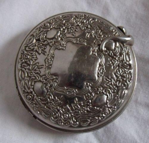 Silver Compact Mirror Ebay