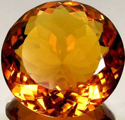 Scotland Citrine 91ct Antique 19thC Ancient Rome Healing God Apollo Aesclepius