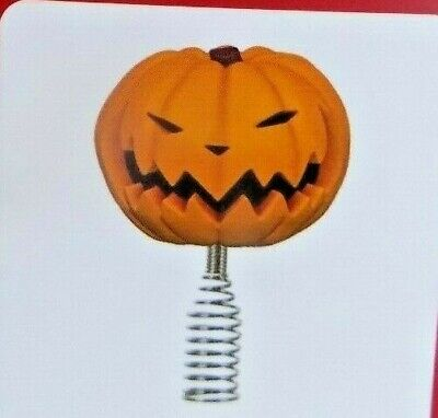 Hallmark Miniature Pumpkin King Tree Topper Disney Nightmare Before Xmas 2020