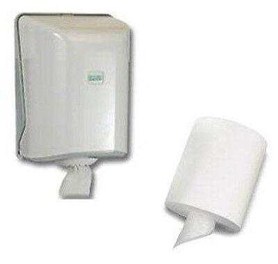 Papierhandtuchspender,Handtuchspender mit Innenabrollung, incl. 1 Handtuchrolle