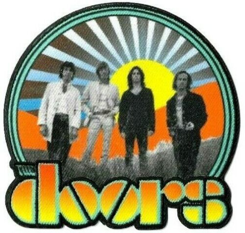 The Doors Waiting for the Sun Patch [Embroidered] Iron or Sew On [Rock Patches]