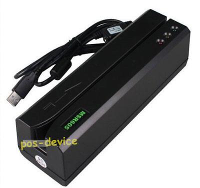 Hi-co Msr Magnetic Card Reader Writer 605 Encoder Stripe Swipe Magstripe Msr206