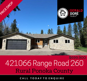 Calling all horse owners - the perfect, private, acreage !