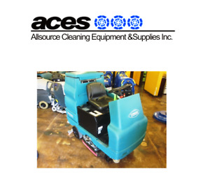 "ACES*Tennant 7100 ride on autoscrubber 28"" w brushes refurbished"