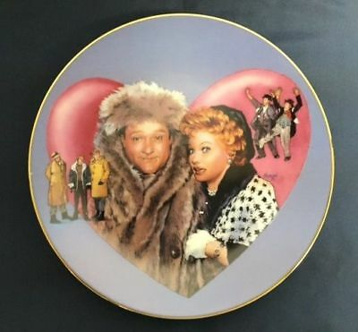 LUCILLE BALL I Love Lucy Meets RED SKELTON Hamilton Plate with COA - RARE