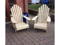 ADIRONDACK WOODEN CHAIRS - Garden furniture Patio chairs
