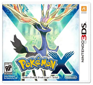 Pokemon X for Nintendo 3DS (complete)