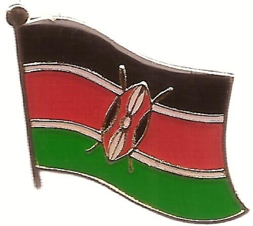 LOT OF 12 Kenya Flag Lapel Pins - Kenya Flag Pin