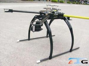 ATG-L600-X4-Real-Carbon-glass-Folding-Frame-Quad-copter-Multi-Multicopter-Tall