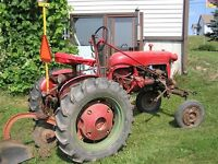 Farmall/IH Cubs and Implements, Standard or Fast Hitch