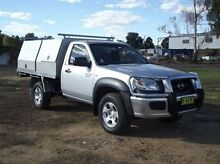 2010 Mazda BT-50 DX Silver 5 Speed Manual Cab Chassis Dubbo 2830 Dubbo Area Preview