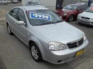 2007 Holden Viva JF MY07 Silver 4 Speed Automatic Sedan Broadmeadow Newcastle Area Preview
