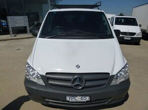 2011 Mercedes-Benz Vito 639 MY11 113CDI Crew Cab White 5 Speed Automatic Van Coburg North Moreland Area Preview