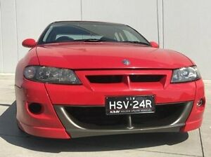 2002 Holden Special Vehicles Clubsport VX II R8 Red 4 Speed Automatic Sedan Kings Park Blacktown Area Preview