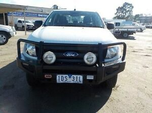 2015 Ford Ranger White Manual Utility Pakenham Cardinia Area Preview