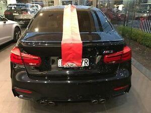 2015 BMW M3 F80 LCI M-DCT Black 7 Speed Sports Automatic Dual Clutch Sedan Summer Hill Ashfield Area Preview