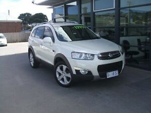 2011 Holden Captiva CG Series II 7 AWD LX White 6 Speed Sports Automatic Wagon Invermay Launceston Area Preview