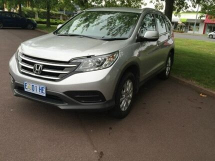 2013 Honda CR-V RM MY14 VTi 4WD Silver 5 Speed Automatic Wagon Invermay Launceston Area Preview