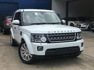 2014 Land Rover Discovery Series 4 L319 MY14 TDV6 White 8 Speed Sports Automatic Wagon Kings Park Blacktown Area Preview