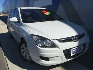 2011 Hyundai i30 FD MY11 SX White 5 Speed Manual Hatchback Bunbury Bunbury Area Preview