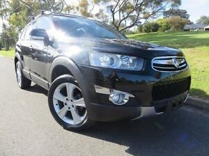 2012 Holden Captiva CG Series II Black 6 Speed Sports Automatic Wagon Christies Beach Morphett Vale Area Preview